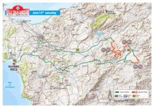 Carte Rallye Sardaigne 2019 Samedi