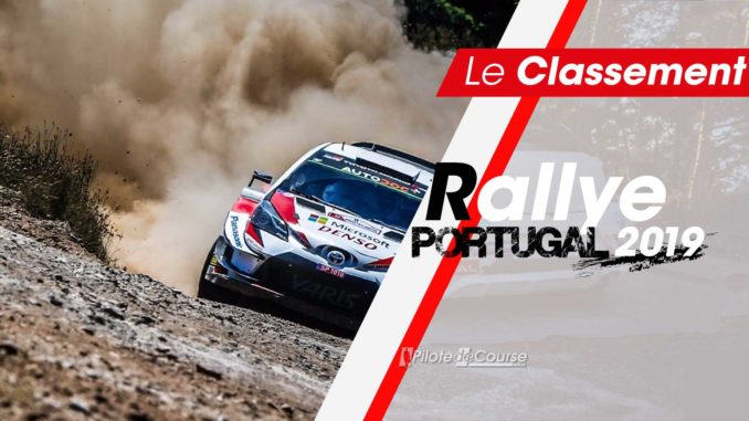 Classement Rallye du Portugal 2019