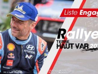 Engagés Rallye Terre du Haut Var 2019
