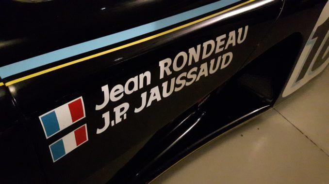 Jean Rondeau et le Mans
