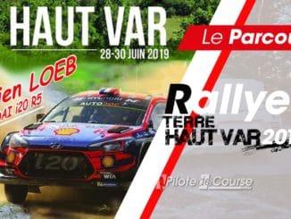 Les spéciales du Rallye Terre du Haut Var 2019