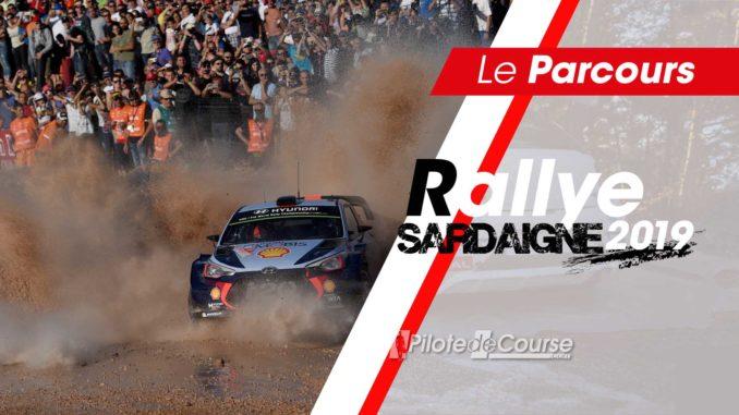 Les spéciales du Rallye de Sardaigne 2019