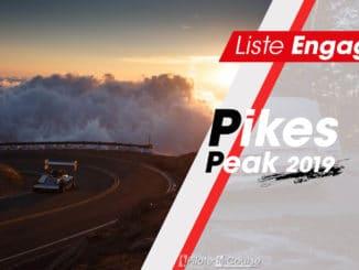 engagés Pikes Peak 2019