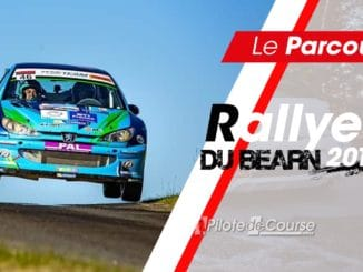 Parcours Rallye du Bearn 2019