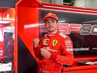 F1 2019 : Charles Leclerc en pole à Spa