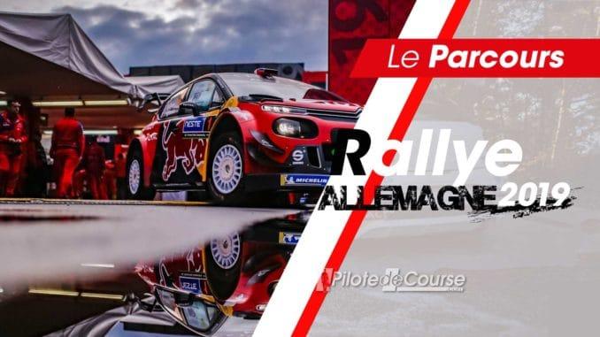 Les spéciales du Rallye Allemagne 2019