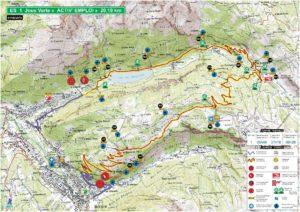 Carte Rallye Mont-Blanc 2019 ES1