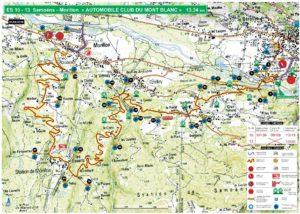 Carte Rallye Mont-Blanc 2019 ES10