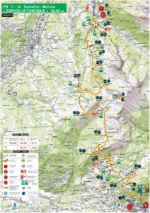 Carte Rallye Mont-Blanc 2019 ES11