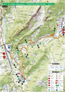 Carte Rallye Mont-Blanc 2019 ES2