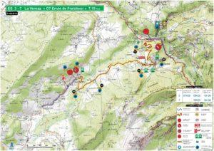 Carte Rallye Mont-Blanc 2019 ES3