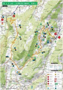 Carte Rallye Mont-Blanc 2019 ES4