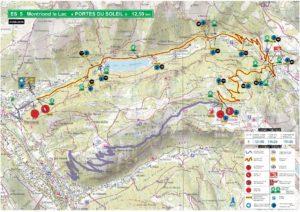 Carte Rallye Mont-Blanc 2019 ES5