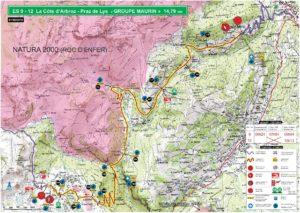 Carte Rallye Mont-Blanc 2019 ES9