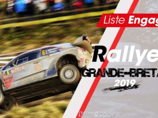 Engagés Rallye Grande-Bretagne