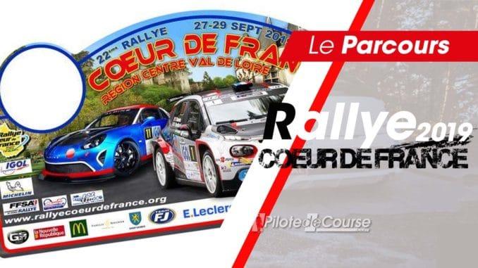 Les spéciales du Rallye Coeur de France 2019