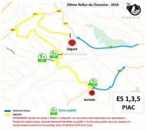 Carte Rallyedu Chasselas 2019