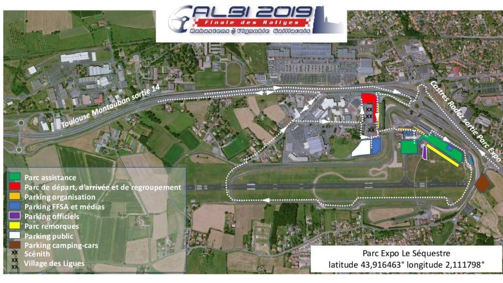 Plan implantation finale Albi 2019
