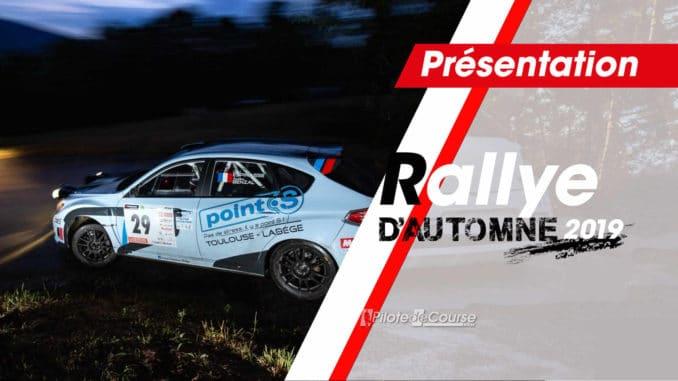 Rallye d'Automne la Rochelle 2019