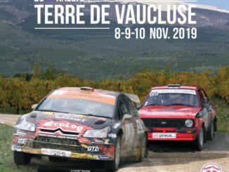 Les spéciales du Rallye Terre de Vaucluse 2019