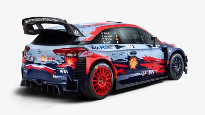 Hyundai i20 WRC 2020