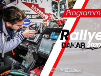 Programme TV Rallye Dakar 2020