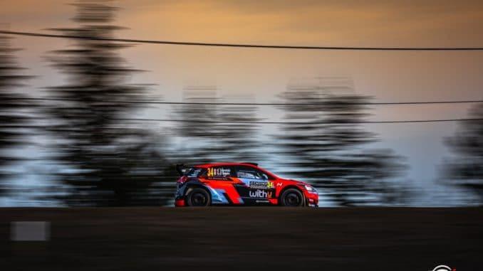 Loubet sur une Hyundai WRC