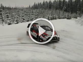 Essais avant le Rallye de Suède 2020