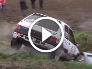 Crash Rallye des Routes du Nord 2020
