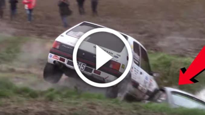 Crash Rallye des Routes du Nord 2020