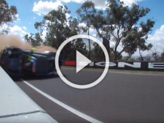 Crash au 12 Heures de Bathurst 2020