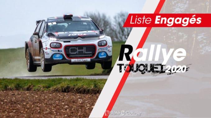 Engagés Rallye Touquet 2020