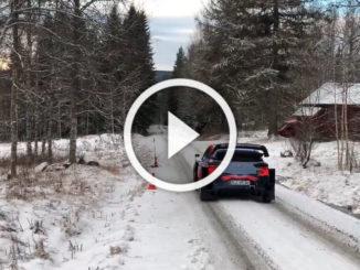 Essais Breen Rallye Suède 2020