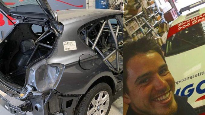 Nouvelle auto pour Nicolas Rouillard