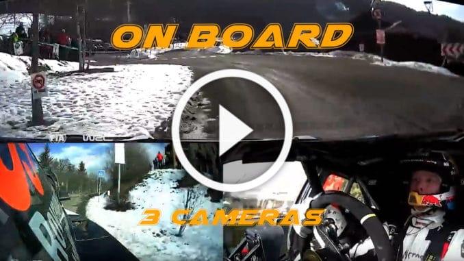 On-board Rovanpera – ES11 Monte-Carlo 2020