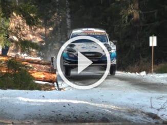 Rallye Suède 2020 : ES10-11