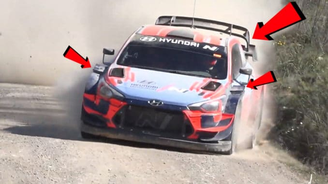 modifications Hyundai i20 WRC 2020