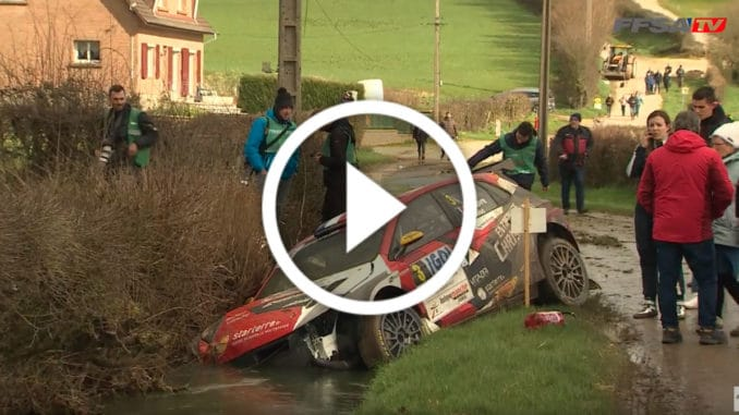 Crash Lefebvre Rallye Touquet 2020