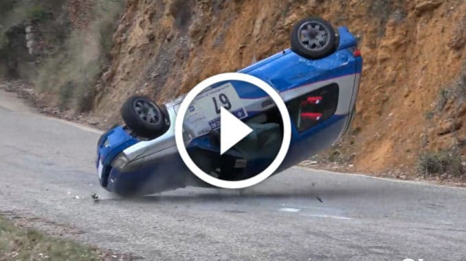 Crash Rallye Vaison 2020