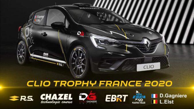 Dylan Gagniere prépare le Clio Trophy 2020