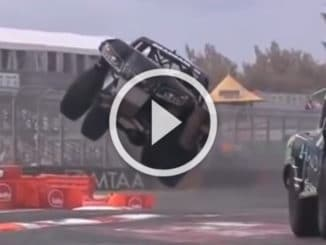 Moments de folie en Stadium Super Trucks
