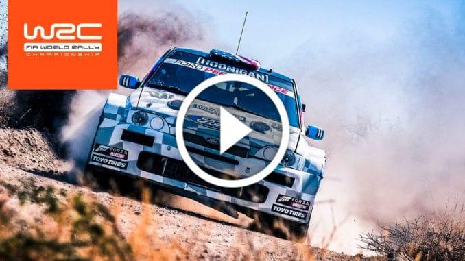 Shakedown Rallye Mexique 2020