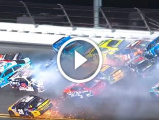 Top crashes NASCAR 2016
