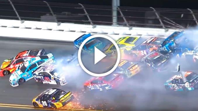 Top crashes NASCAR 2016