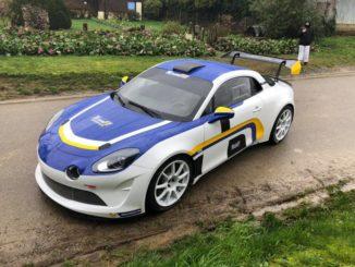 shakedown Rallye Touquet 2020