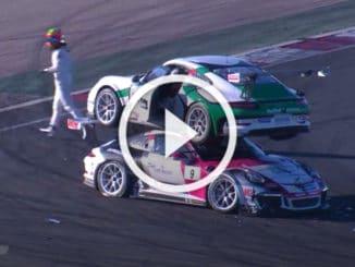 Empilage de Porsche 911 Carrera Cup