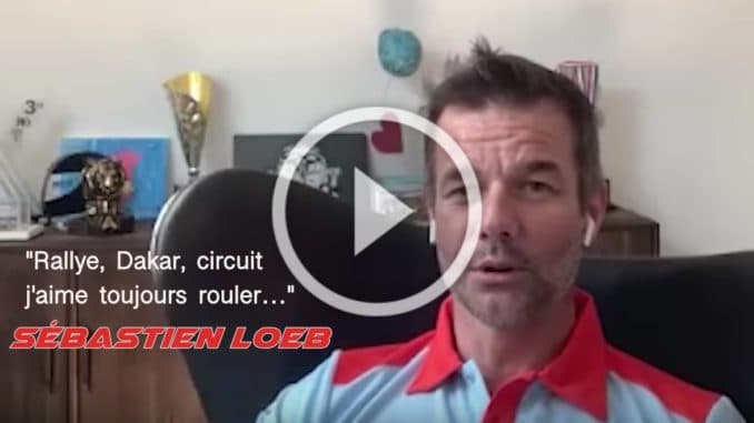 "Loeb : ""Rallye, Dakar, circuit, j'aime toujours rouler"""