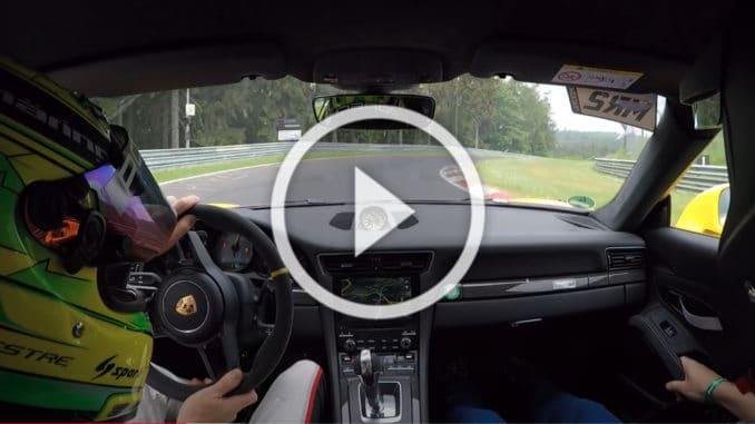 Nürburgring Porsche GT3 RS