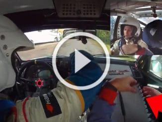 On board Dupouy Rallye du Medoc 2011