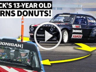 Ken Block forme sa fille aux donuts